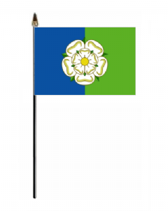 Yorkshire East Riding Hand Flag - Small